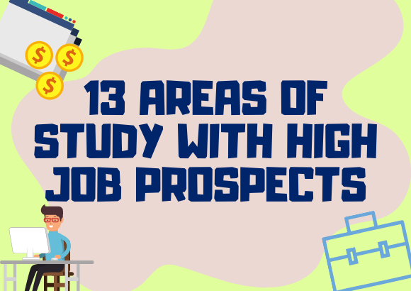 13 Areas of Study with High Job Prospects