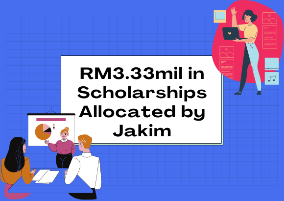 RM3.33mil in Scholarships Allocated by Jakim