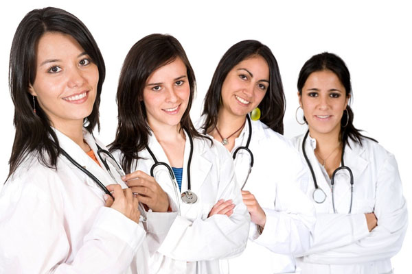 The best Pre-U options for studying medicine in Malaysia female doctors all in a row