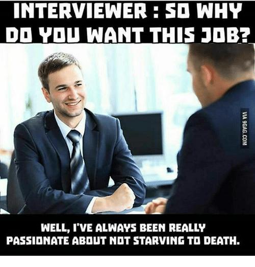 Cara mohon kerja yang overqualified. Sumber WWW.9GAG.COM