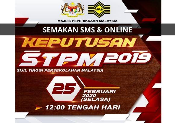 Cara Semak Keputusan STPM 2019 Online