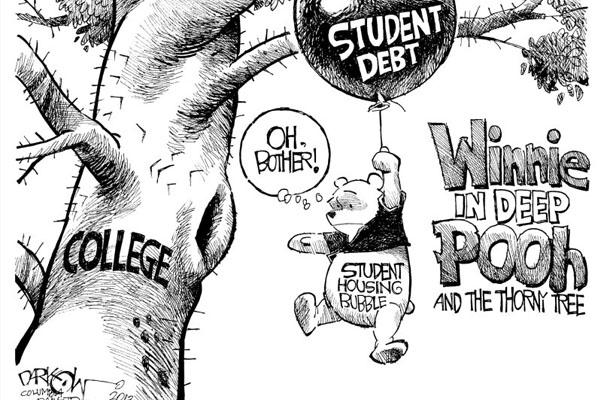 Loan - winnie the pooh college debt