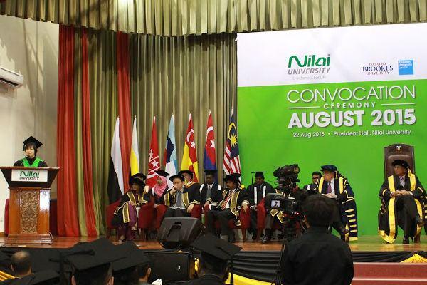 NILAI Convo speech