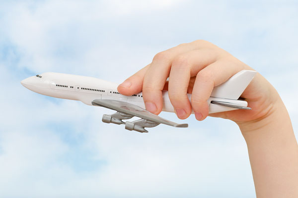 Foreign degree - plane in hand stay in Malaysia study