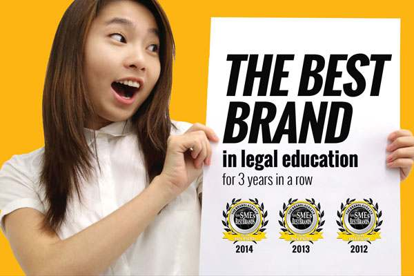 Foreign degree - Brickfields Asia College law students happy