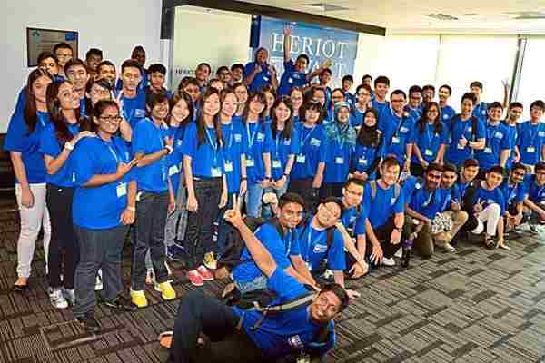 Foreign degree - Heriot Watt Malaysia students happy