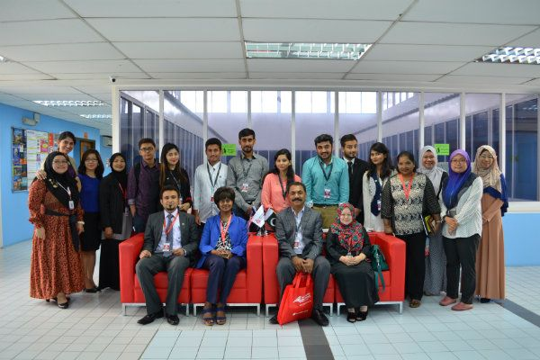 Students from Pakistan visit IUKL in 2016