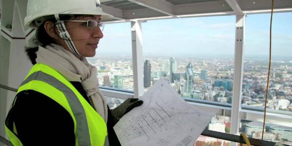 woman asian engineer