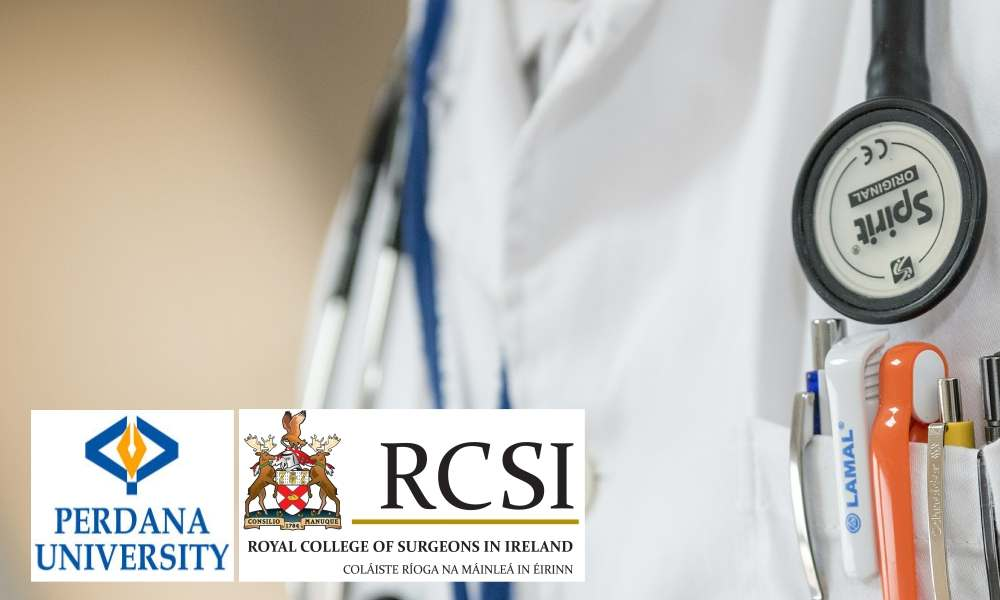 Irish medical degree now with Perdana University
