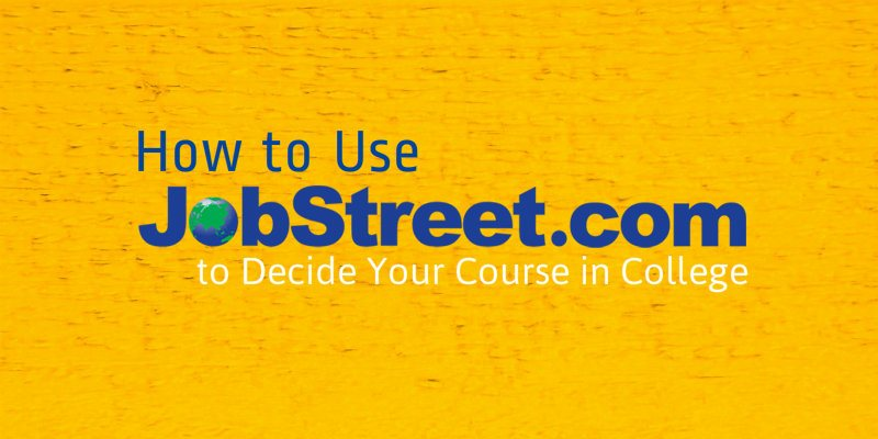 5 ways jobstreet can help you decide your future the process of selecting a course should be done after a comprehensive research of what you like or dislike and compare it to the courses available stopboris Image collections