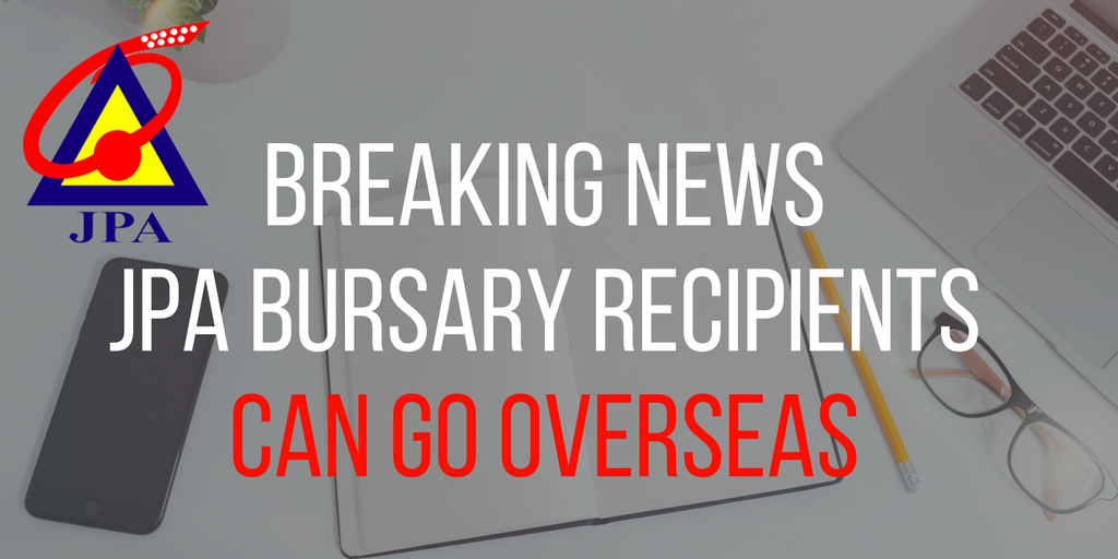 Breaking News Jpa Bursary Recipients Can Go Overseas