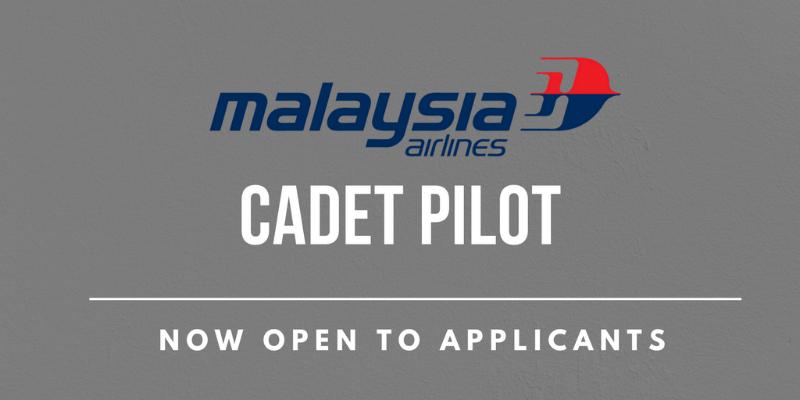 Malaysia Airlines Cadet Pilot Recruitment 2017