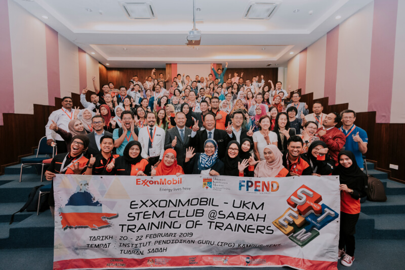 ExxonMobil-UKM STEM Club: Training of Trainers Programme