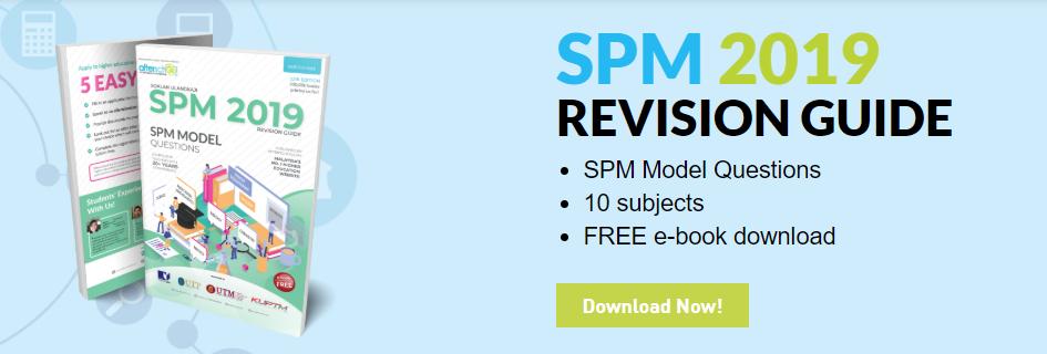 SPM 2019 Revision Guide