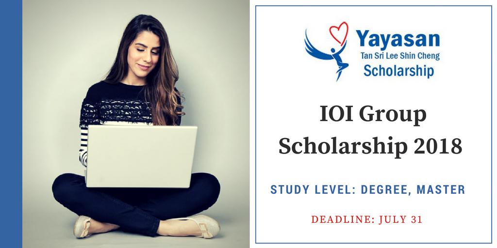 Yayasan Tan Sri Lee Shin Cheng (YTSLSC) Scholarship
